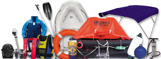 Lalizas life saving equipment and boating hardware