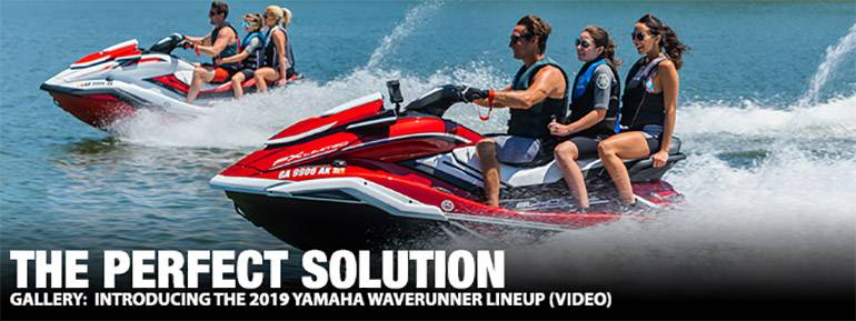 Introducing The 2019 Yamaha WaveRunner Lineup